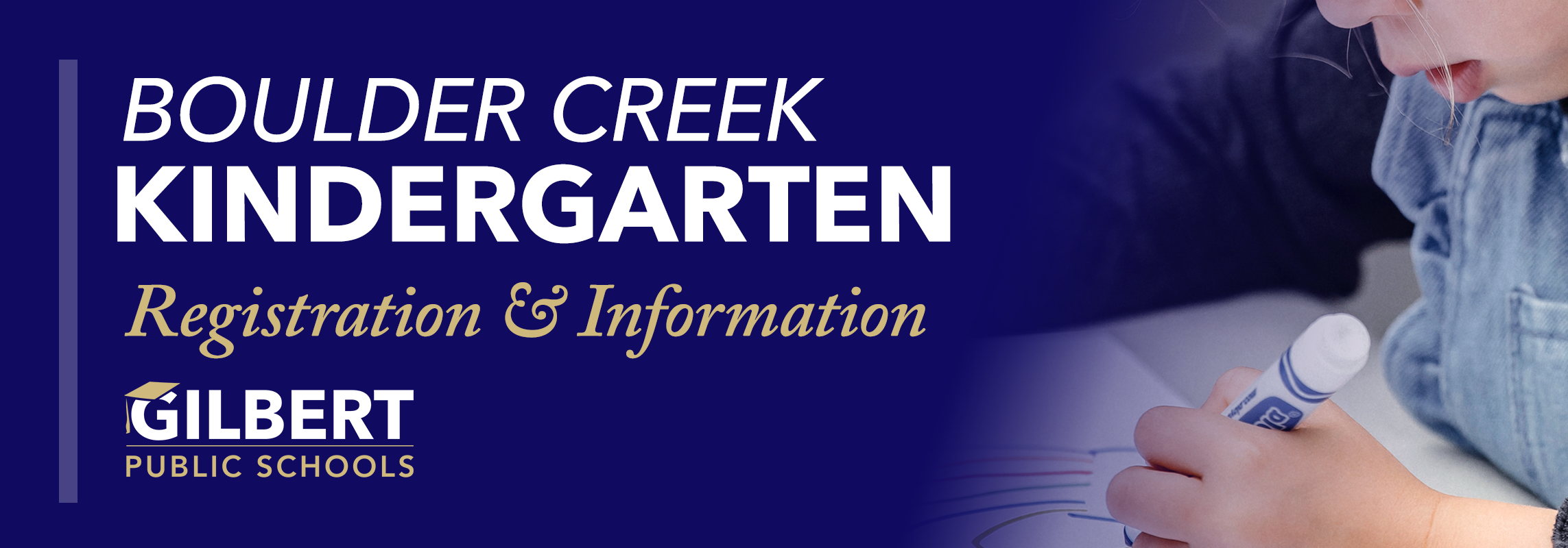 Boulder Creek Kindergarten Registration