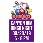 UPCOMING EVENT: 50's Bingo Night! 50's Theme!  Only $5 event fee per person!