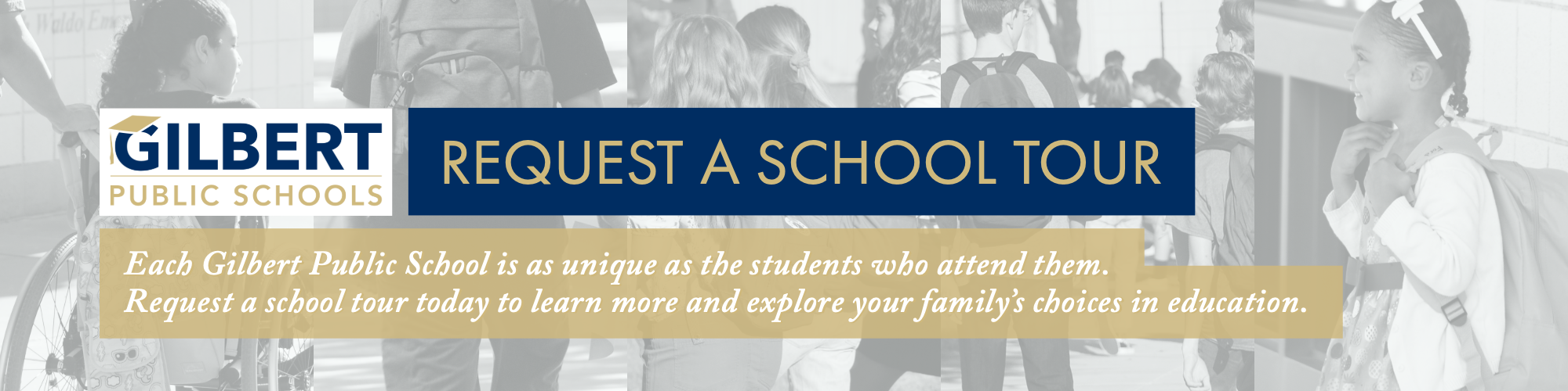 Request a School Tour at Gilbert Public Schools