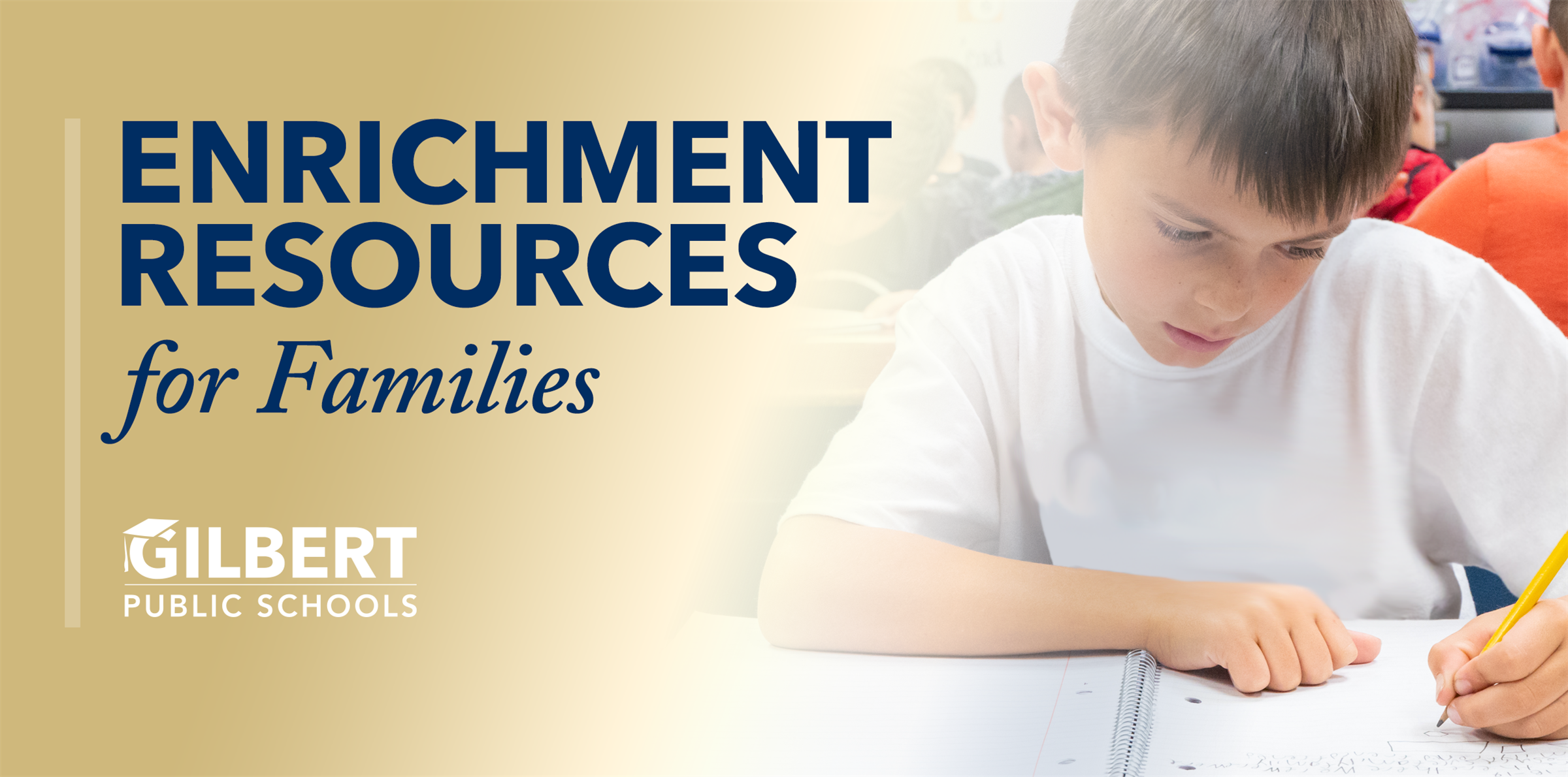 At Home Enrichment Resources for Families