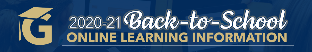Back to School 2020/21 Online Learning Information