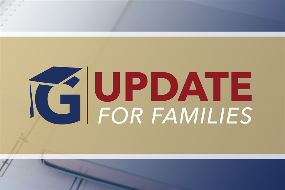 Important Update for Families, August 12, 2020
