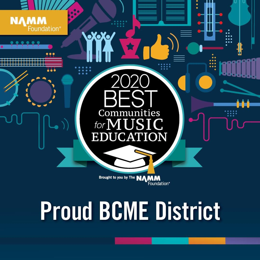 Gilbert Public Schools Announced as 2020 Best Communities for Music Education NAMM Foundation