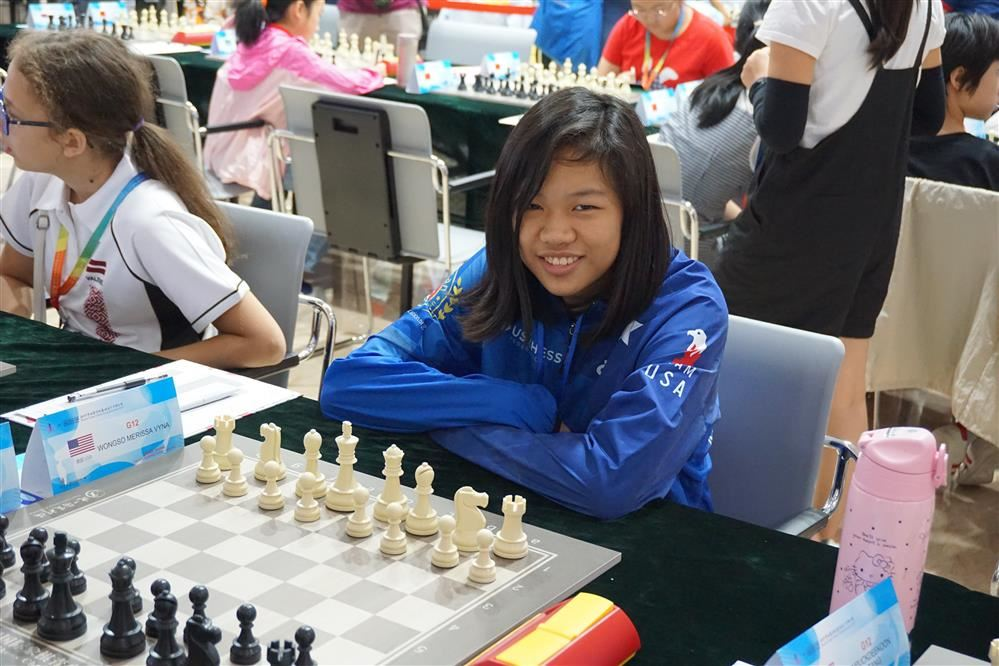 GCA 7th grader Merissa Wongso is a 2019 World Chess Cadet Championship qualifier!