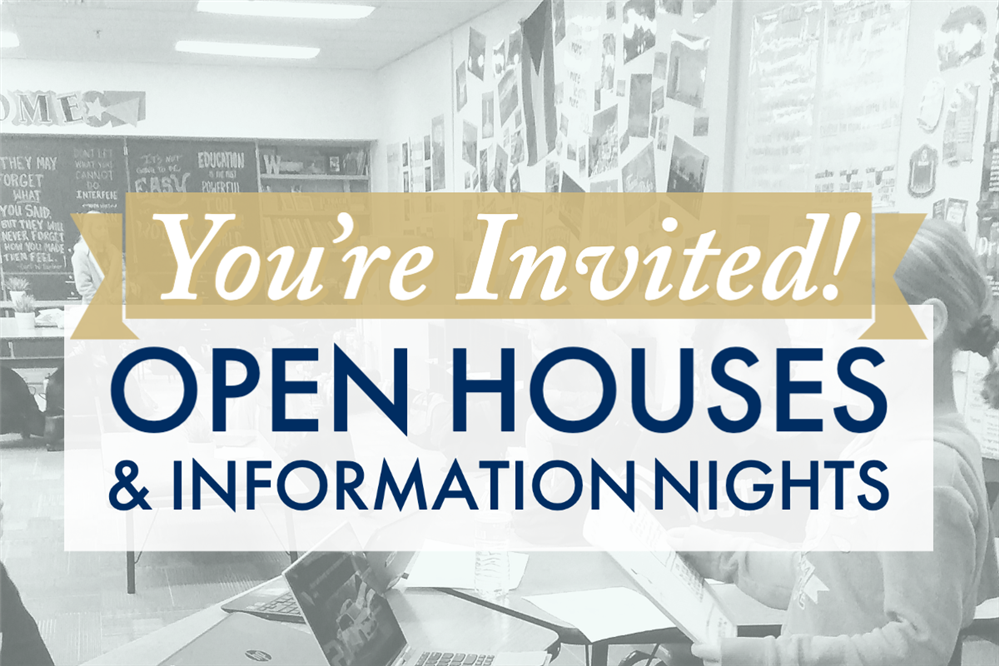 Gilbert Public Schools Open Houses & Information Nights