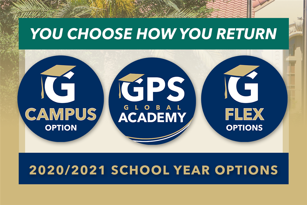 GPS  You Choose How You Return - In-person, Online, & Flex Options