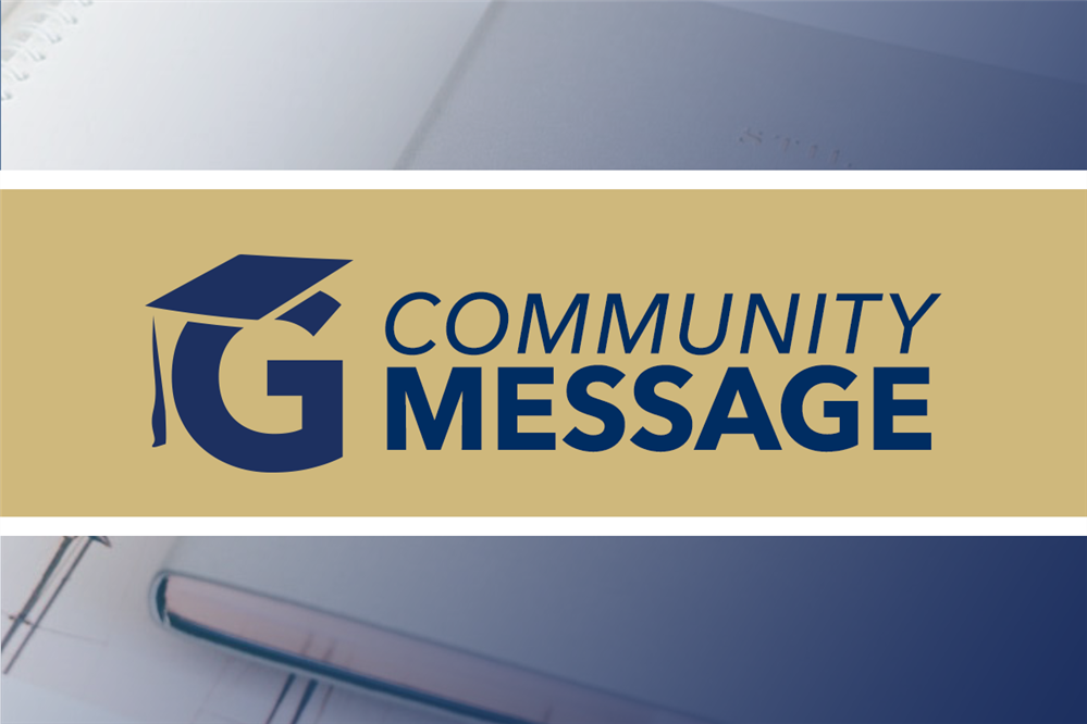 Community Message