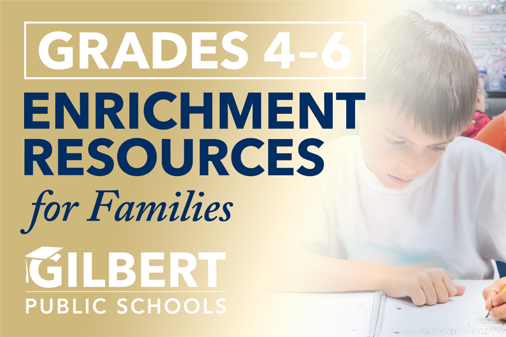 Enrichment Resources for Grades 4–6th