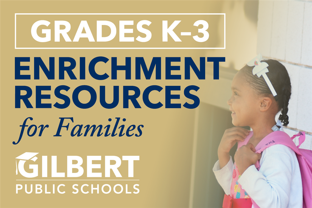 K–3 Enrichment Resources