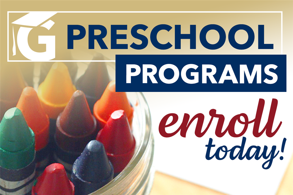 Learn more about our variety of preschool programs and enroll your child today!