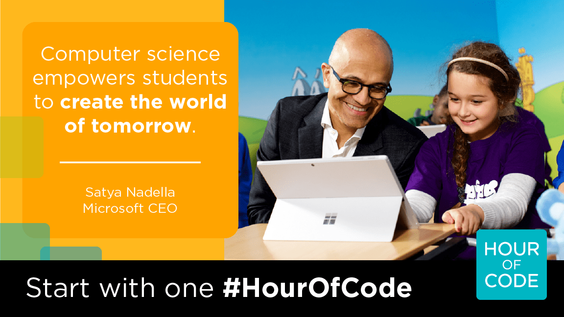 Computer Science Empowers Students to Create the World of Tomorrow - Satya Nadella