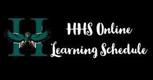 HHS Online Learning Schedule