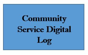Community Service Digital Log