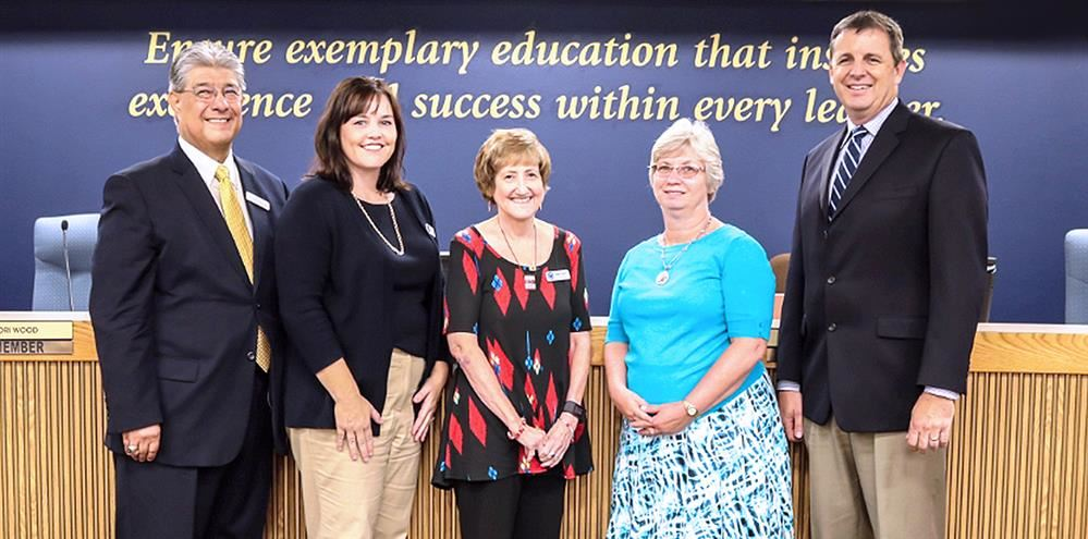 Gilbert Public School Board Members