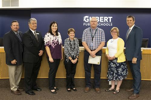 GPS Superintendent Recognitions Awards