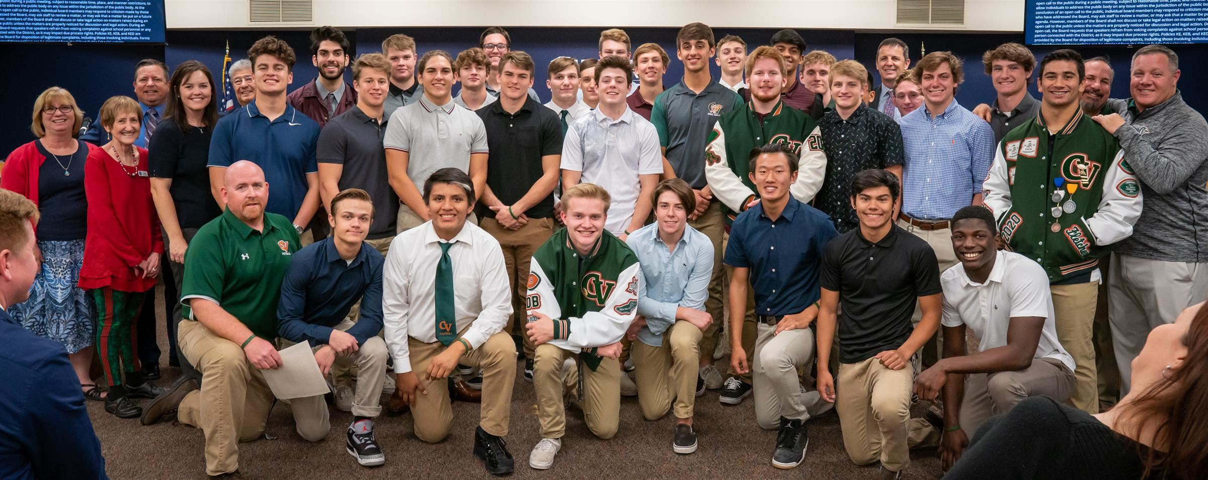 Campo Verde Football Team - 5A State Runners Up