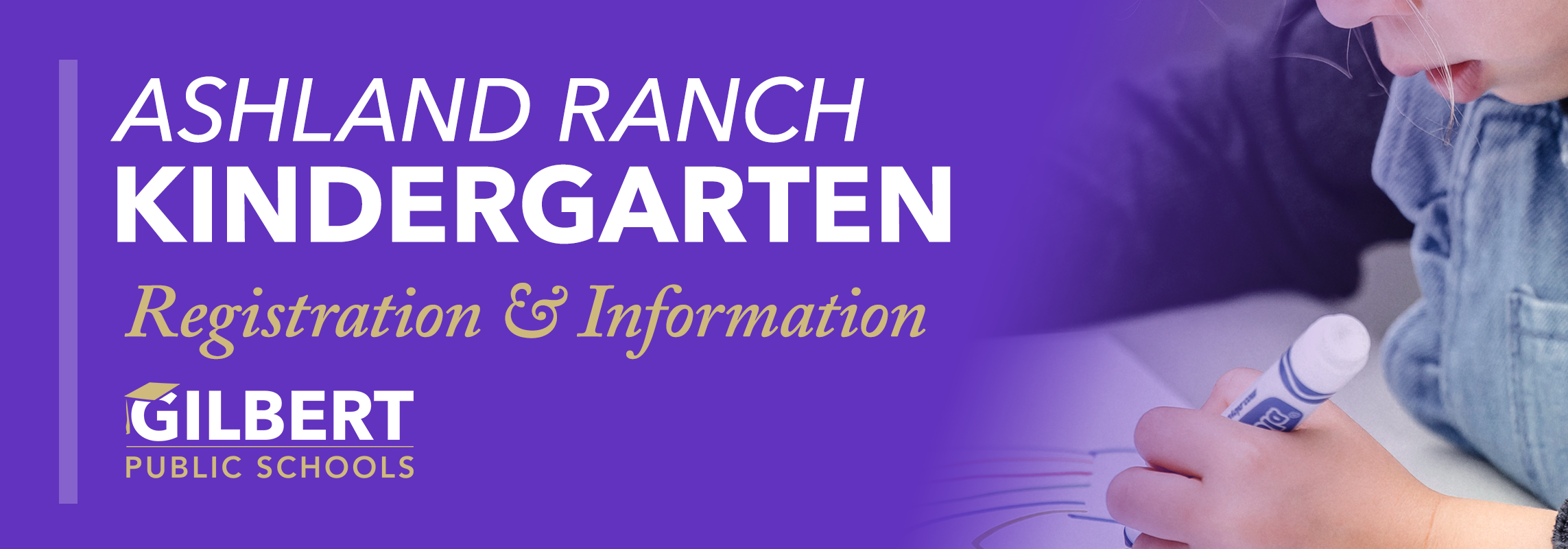 Ashland Ranch Kindergarten Registration
