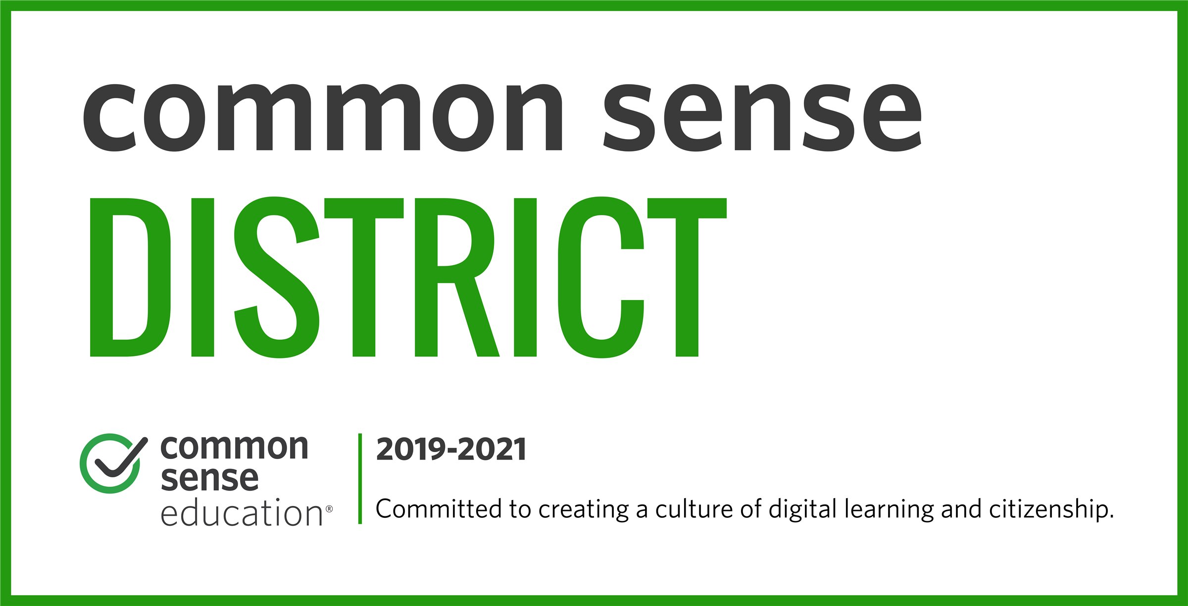 2019–2021 Gilbert Public Schools Common Sense District