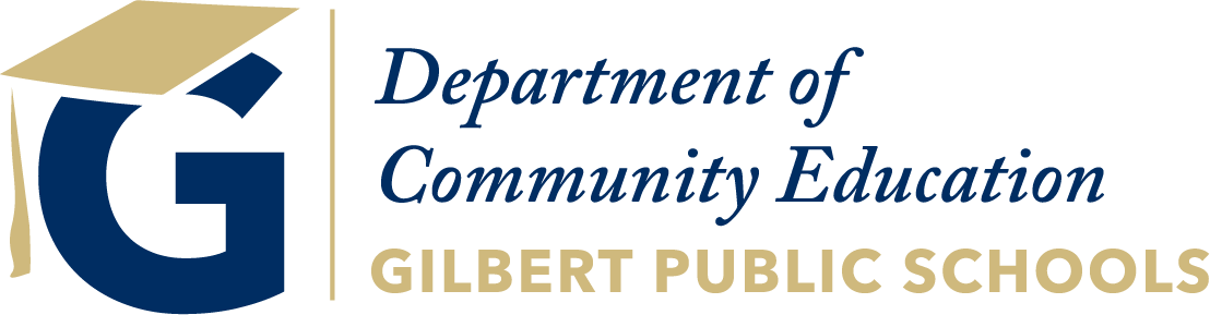 Gilbert Public Schools Community Education Department